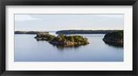 Framed Small islands in the sea, Stockholm Archipelago, Sweden