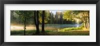 Framed Dal River, Sweden