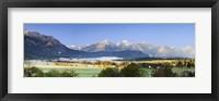 Framed King's Region and Allgau Alps, Bavaria, Germany
