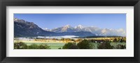 Framed King's Region and Allgau Alps, Bavaria, Germany