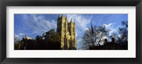Framed Low angle view of an abbey, Westminster Abbey, City of Westminster, London, England