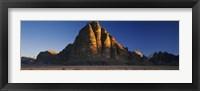 Framed Seven Pillars of Wisdom, Wadi Rum, Jordan