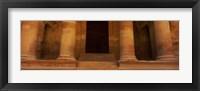 Framed Doorway to the Treasury, Wadi Musa, Petra, Jordan