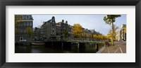 Framed Bridge Over a Canal, Amsterdam, Netherlands