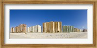 Framed Beachfront buildings on Gulf Of Mexico, Orange Beach, Baldwin County, Alabama, USA