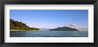 Framed Islands in an ocean, North Island, Silhouette Island, Seychelles