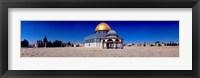 Framed Dome of The Rock, Temple Mount, Jerusalem, Israel