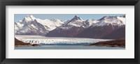 Framed Moreno Glacier, Argentino Lake, Argentine Glaciers National Park, Santa Cruz Province, Patagonia, Argentina