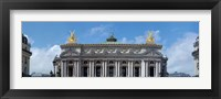 Framed Low angle view of an opera house, Opera Garnier, Paris, Ile-de-France, France