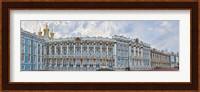 Framed Catherine Palace courtyard, Tsarskoye Selo, St. Petersburg, Russia