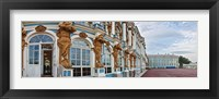 Framed Catherine Palace building details, St. Petersburg, Russia