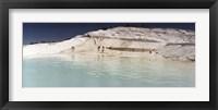 Framed Pamukkale, Denizli Province, Turkey