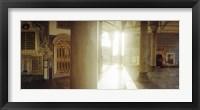 Framed Interiors of Topkapi Palace in Istanbul, Turkey (horizontal)