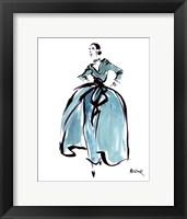 Framed L'Heure Bleue