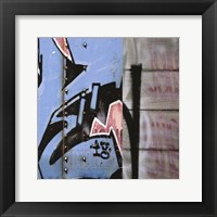 Framed Street Flow I