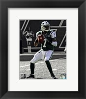 Framed Geno Smith 2013 Spotlight Action