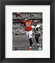 Framed Demaryius Thomas 2013 Spotlight Action