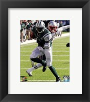 Framed Geno Smith running 2013