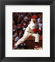 Framed Matt Holliday RBI Single Game 3 of the 2013 World Series