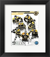 Framed Boston Bruins 2013-14 Team Composite
