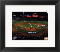 Framed Fenway Park Game 6 of the 2013 World Series