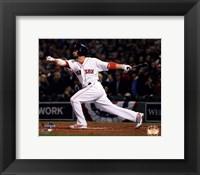 Framed Shane Victorino 3 Run Double 6 of 2013 World Series