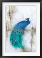 Framed Jewel Plumes I