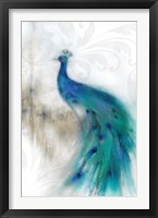 Framed Jewel Plumes II