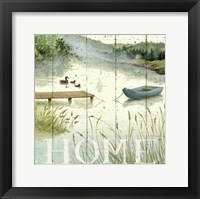 Framed Lakeside I