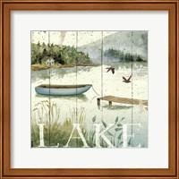 Framed Lakeside II