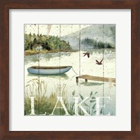 Framed Lakeside II