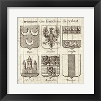 Framed Restoration Period French Armory II