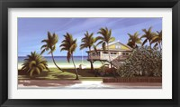 Framed Seagrapes Cottage