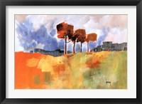 Framed Four Trees