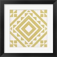 Modern Quilt I Framed Print