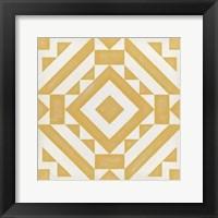 Modern Quilt III Framed Print