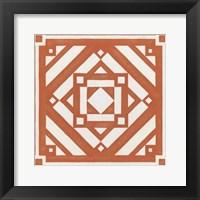Modern Quilt IV Framed Print