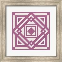 Framed Modern Quilt VI