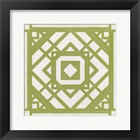 Framed Modern Quilt VIII