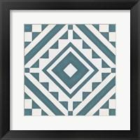 Modern Quilt IX Framed Print