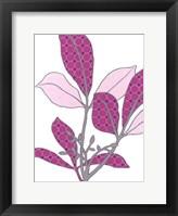 Framed Modern Foliage III