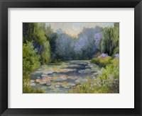 Framed Monet's Garden I