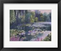 Framed Monet's Garden II