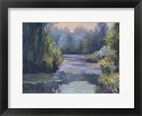 Framed Monet's Garden III