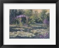 Framed Monet's Garden IV