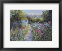 Framed Monet's Garden V