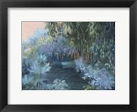 Framed Monet's Garden VII