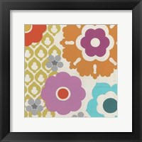 Candy Blossoms I Framed Print