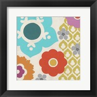 Candy Blossoms II Framed Print