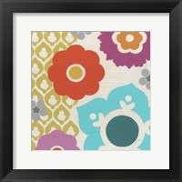 Candy Blossoms III Framed Print